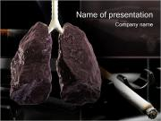 LUNGCANCER PowerPoint presentationsmallar