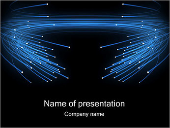 Fiber Optics PowerPoint Template