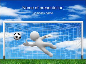 Goalkeeper PowerPoint Template