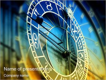 Praski zegar astronomiczny Szablony prezentacji PowerPoint