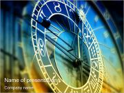 Prague Astronomical Clock PowerPoint Templates