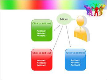 Pessoas Círculo Modelos de apresentações PowerPoint - Slide 12