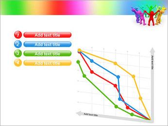 Pessoas Círculo Modelos de apresentações PowerPoint - Slide 13