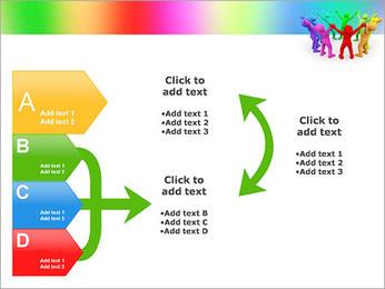 Pessoas Círculo Modelos de apresentações PowerPoint - Slide 16