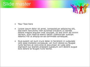 Pessoas Círculo Modelos de apresentações PowerPoint - Slide 2
