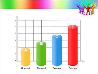 Pessoas Círculo Modelos de apresentações PowerPoint - Slide 21