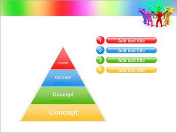 Pessoas Círculo Modelos de apresentações PowerPoint - Slide 22