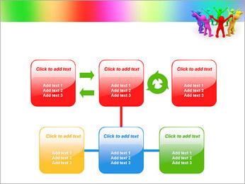 Pessoas Círculo Modelos de apresentações PowerPoint - Slide 23