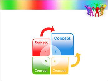 Pessoas Círculo Modelos de apresentações PowerPoint - Slide 5