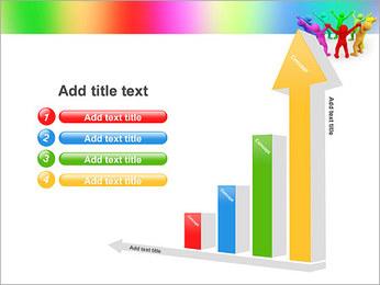 Pessoas Círculo Modelos de apresentações PowerPoint - Slide 6