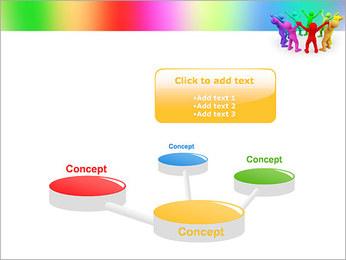 Pessoas Círculo Modelos de apresentações PowerPoint - Slide 9