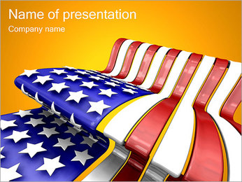 United States Flag PowerPoint Template