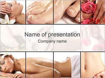 Spa Service PowerPoint Template