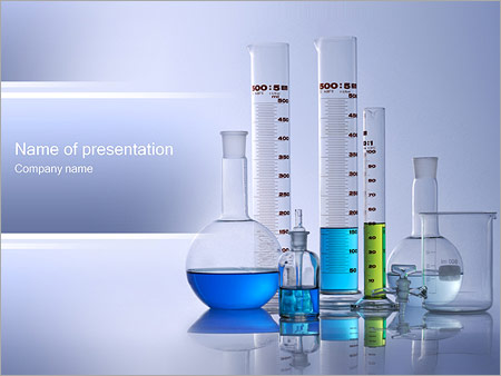 Chemical Flasks PowerPoint Template