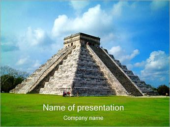 Майя Пирамида Шаблоны презентаций PowerPoint