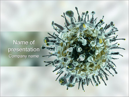 Virus PowerPoint Template
