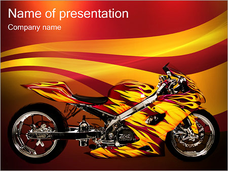 powerpoint template free download motorcycle gallery powerpoint template and layout. Black Bedroom Furniture Sets. Home Design Ideas