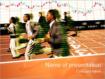 Business Competition I pattern delle presentazioni del PowerPoint
