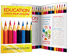 Pencils Brochure Templates