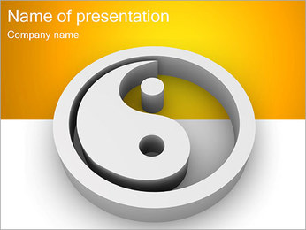 Yin and Yang PowerPoint Template