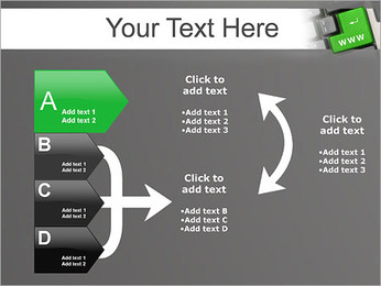 Enter WWW PowerPoint Template - Slide 16
