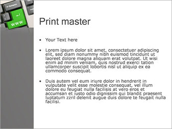 Enter WWW PowerPoint Template - Slide 24
