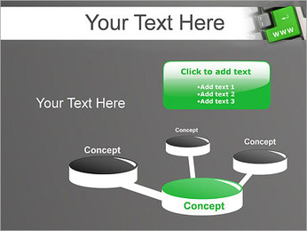 Enter WWW PowerPoint Template - Slide 9