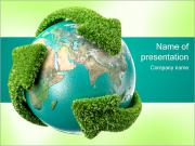 Recycling Erde PowerPoint-Vorlagen
