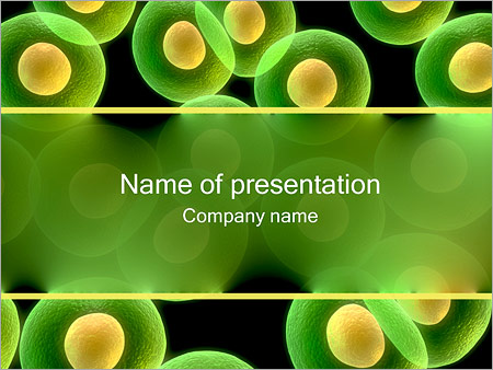 Cell Powerpoint Template Backgrounds Google Slides Id