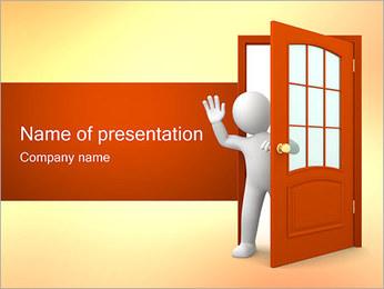 Adeus Modelos de apresentações PowerPoint - Slide 1