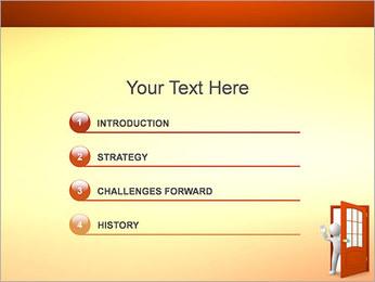 Adeus Modelos de apresentações PowerPoint - Slide 3