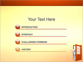 Goodbye PowerPoint Template - Slide 3