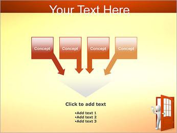 Adeus Modelos de apresentações PowerPoint - Slide 8