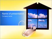 Mouse and Window PowerPoint Templates
