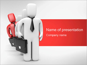 Outstanding Businessman PowerPoint Template