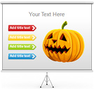 Halloween PPT Diagrams & Chart