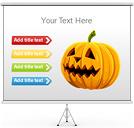 De Halloween Gráficos y diagramas para PowerPoint