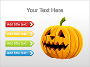Halloween PPT Diagrams & Charts