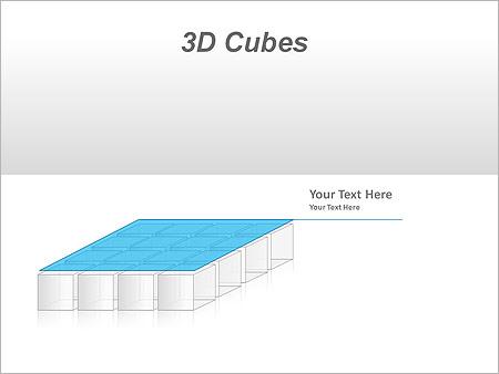 3D Cubes Схемы и диаграммы для PowerPoint - Слайд 33