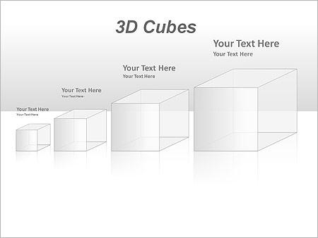 3D Cubes Схемы и диаграммы для PowerPoint - Слайд 40