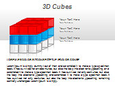 3D Cubes Схемы и диаграммы для PowerPoint - Слайд 11