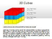 3D Cubes Схемы и диаграммы для PowerPoint - Слайд 12
