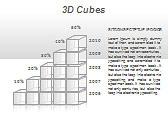 3D Cubes Схемы и диаграммы для PowerPoint - Слайд 23