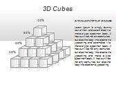 3D Cubes Схемы и диаграммы для PowerPoint - Слайд 24