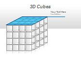 3D Cubes Схемы и диаграммы для PowerPoint - Слайд 36
