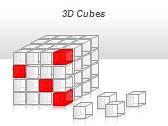 3D Cubes Схемы и диаграммы для PowerPoint - Слайд 39