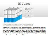 3D Cubes Схемы и диаграммы для PowerPoint - Слайд 4