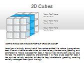3D Cubes Схемы и диаграммы для PowerPoint - Слайд 6