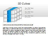 3D Cubes Схемы и диаграммы для PowerPoint - Слайд 9