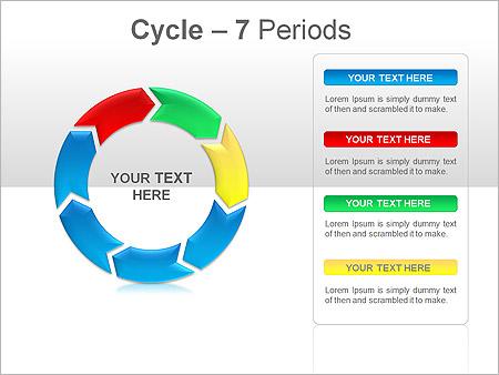 Cercles Des Sch 233 Mas Et Des Diagrammes Pour Powerpoint Et